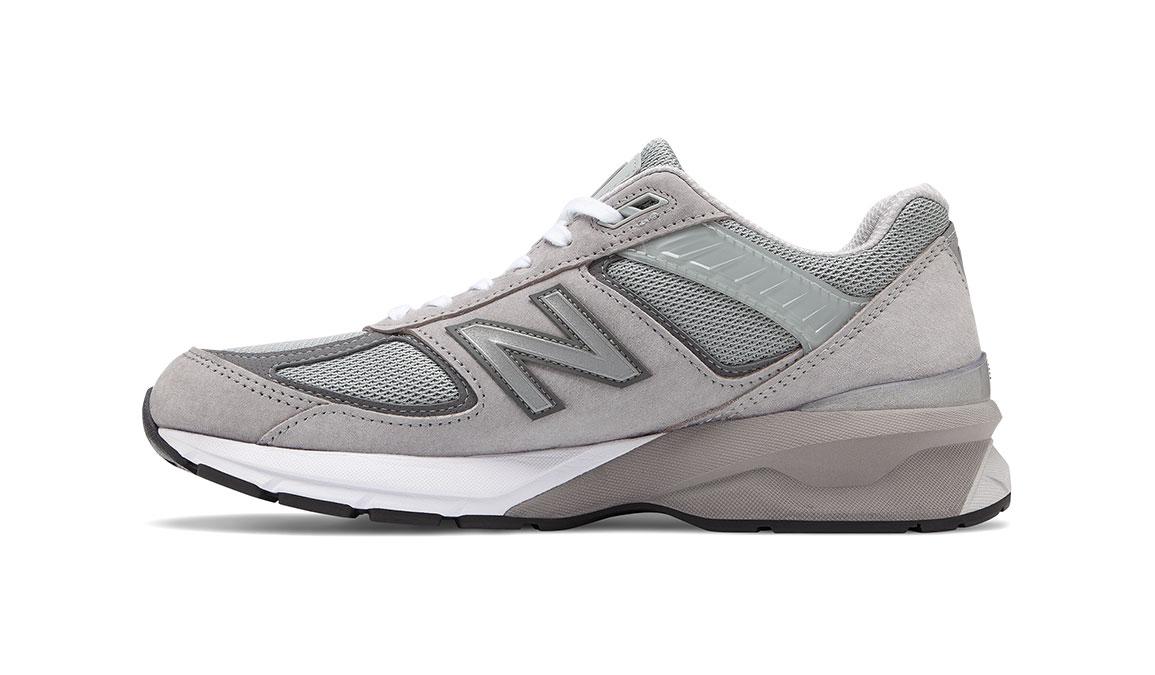 Men's New Balance 990v5 Running Shoe - Color: Grey/Castlerock (Regular Width) - Size: 13, Grey, large, image 2