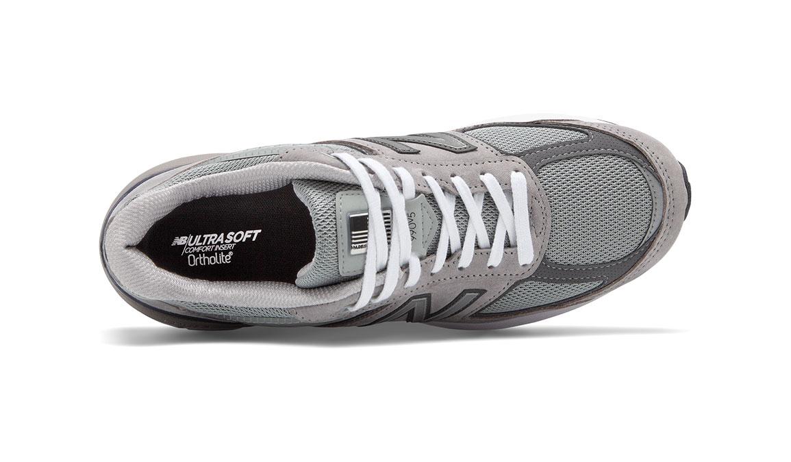 Men's New Balance 990v5 Running Shoe - Color: Grey/Castlerock (Regular Width) - Size: 13, Grey, large, image 3
