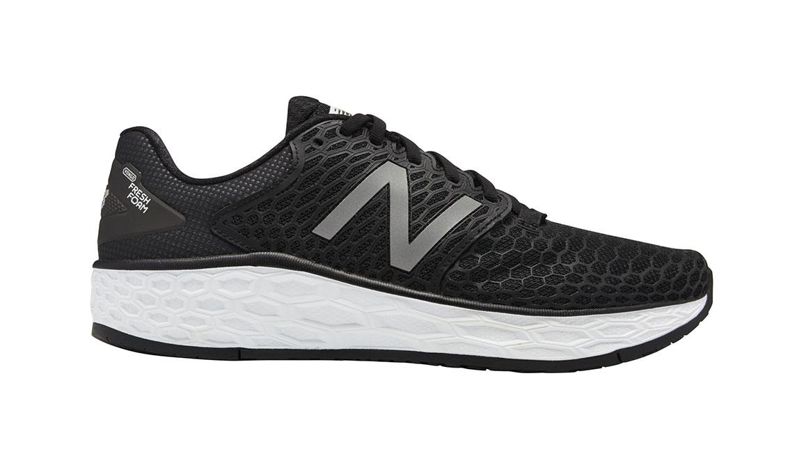 Men's New Balance Fresh Foam Vongo V3 Running Shoe - Color: Black/White (Regular Width) - Size: 8.5, Black/White, large, image 1