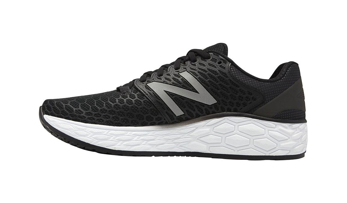 Men's New Balance Fresh Foam Vongo V3 Running Shoe - Color: Black/White (Regular Width) - Size: 8.5, Black/White, large, image 2