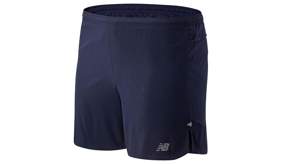 """Men's New Balance Impact Run 5"""" Short - Color: Eclipse Size: XL, Blue, large, image 1"""
