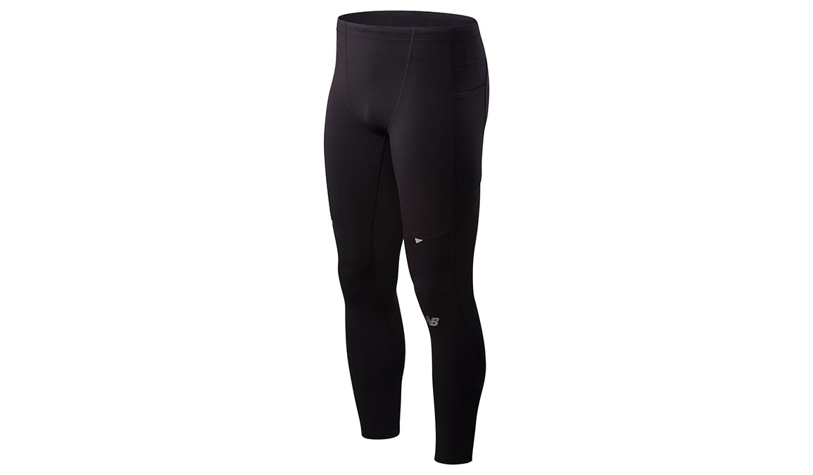Men's New Balance Impact Run Tight  - Color: Black Size: XL, Black, large, image 1