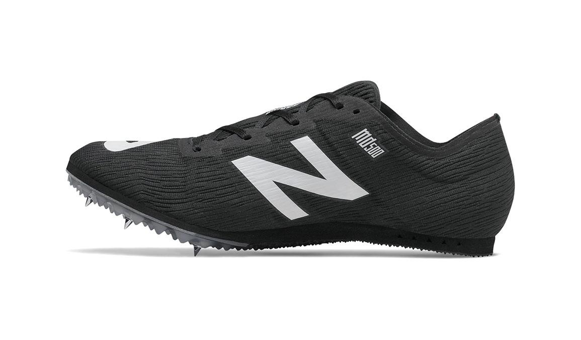 Men's New Balance MD500v7 Track Spike  - Color: Black (Regular Width) - Size: 8.5, Black, large, image 2