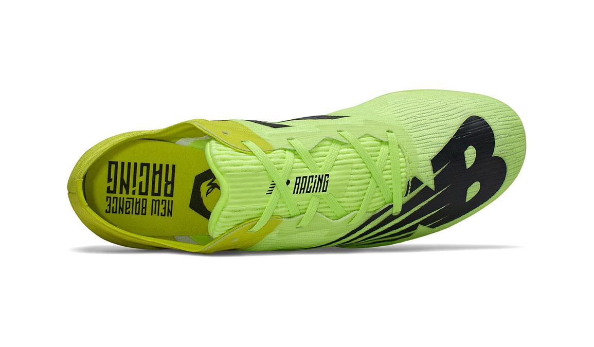 Men's New Balance MD500v7 Track Spike  - Color: Sulphur Yellow (Regular Width) - Size: 8.5, Yellow/Black, large, image 3