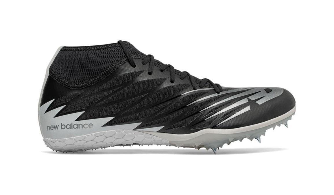 Men's New Balance SD100v2 Track Spike - Color: Black/White (Regular Width) - Size: 8.5, Black/White, large, image 1