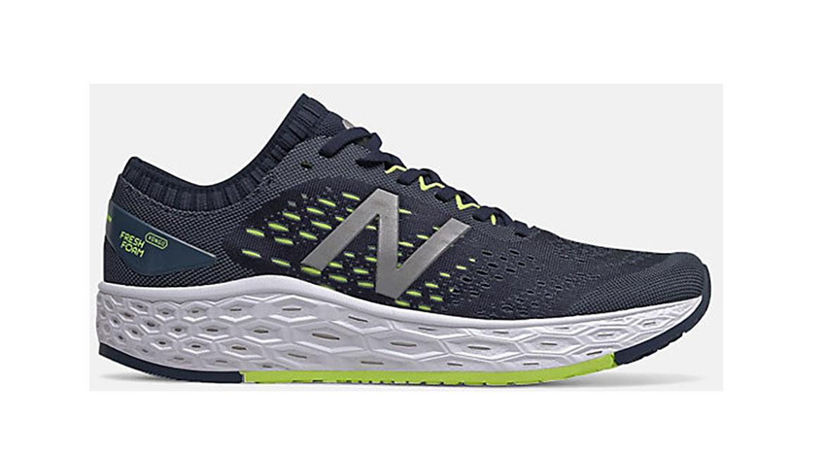 Men's New Balance Vongo V4 Running Shoe - Color: Natural Indigo (Regular Width) - Size: 8, Blue, large, image 1