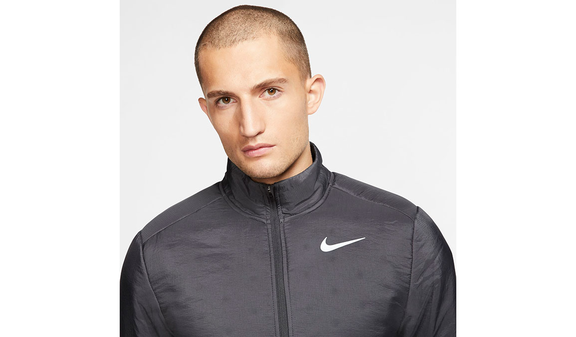 Men's Nike AeroLayer Jacket - Color: Dark Smoke Grey/Reflective Silver Size: S, Dark Smoke Grey/Reflective Silver, large, image 2
