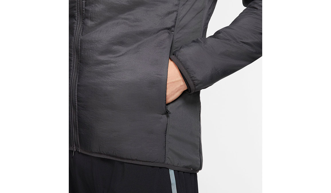 Men's Nike AeroLayer Jacket - Color: Dark Smoke Grey/Reflective Silver Size: S, Dark Smoke Grey/Reflective Silver, large, image 3