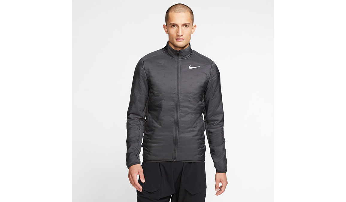 Men's Nike AeroLayer Jacket - Color: Dark Smoke Grey/Reflective Silver Size: S, Dark Smoke Grey/Reflective Silver, large, image 1