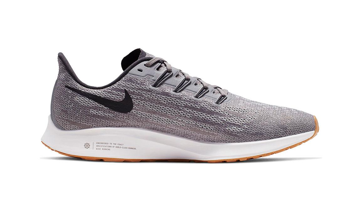 Men's Nike Air Zoom Pegasus 36 Running Shoe - Color: Gunsmoke/Oil Grey/White (Regular Width) - Size: 6, Gunsmoke/Oil Grey/White, large, image 2