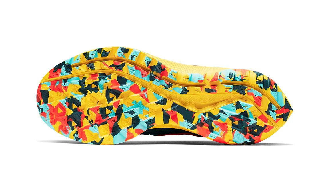 Men's Nike Air Zoom Pegasus 36 Trail Running Shoe - Color: Geode Teal/Bright Crimson (Regular Width) - Size: 6, Geode Teal/Bright Crimson, large, image 4