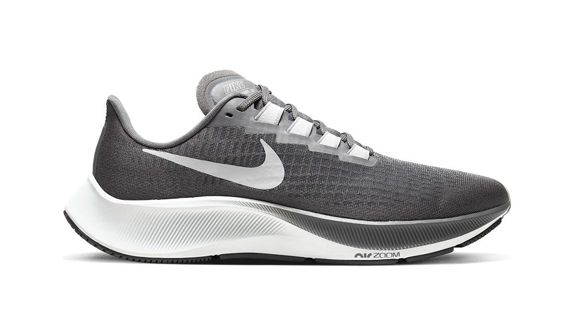 Men's Nike Air Zoom Pegasus 37 Running Shoe - Color: Iron Grey/Lt Smoke Grey/Particle Grey (Regular Width) - Size: 7, Iron Grey/Light Smoke Grey/Particle Grey, large, image 1