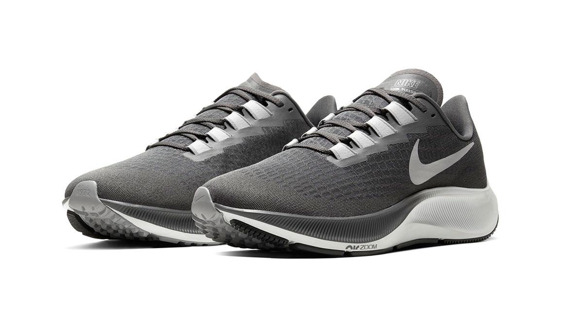 Men's Nike Air Zoom Pegasus 37 Running Shoe - Color: Iron Grey/Lt Smoke Grey/Particle Grey (Regular Width) - Size: 7, Iron Grey/Light Smoke Grey/Particle Grey, large, image 3