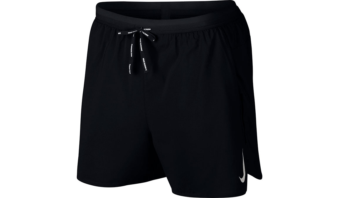 "Men's Nike Dri-FIT Flex Stride 7"" 2-in-1 Shorts - Color: Black/Reflective Silver Size: S, Black/Reflective Silver, large, image 1"