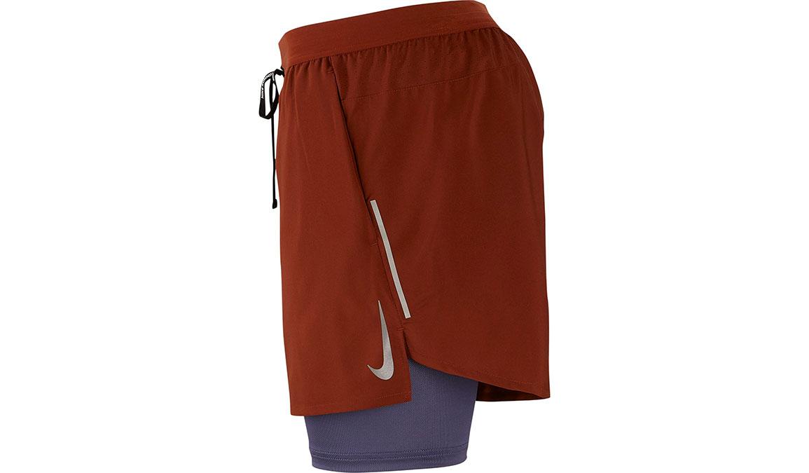 "Men's Nike Dri-FIT Flex Stride 7"" 2-in-1 Shorts - Color: Cinnamon/Sanded Purple Size: S, Cinnamon/Sanded Purple, large, image 2"