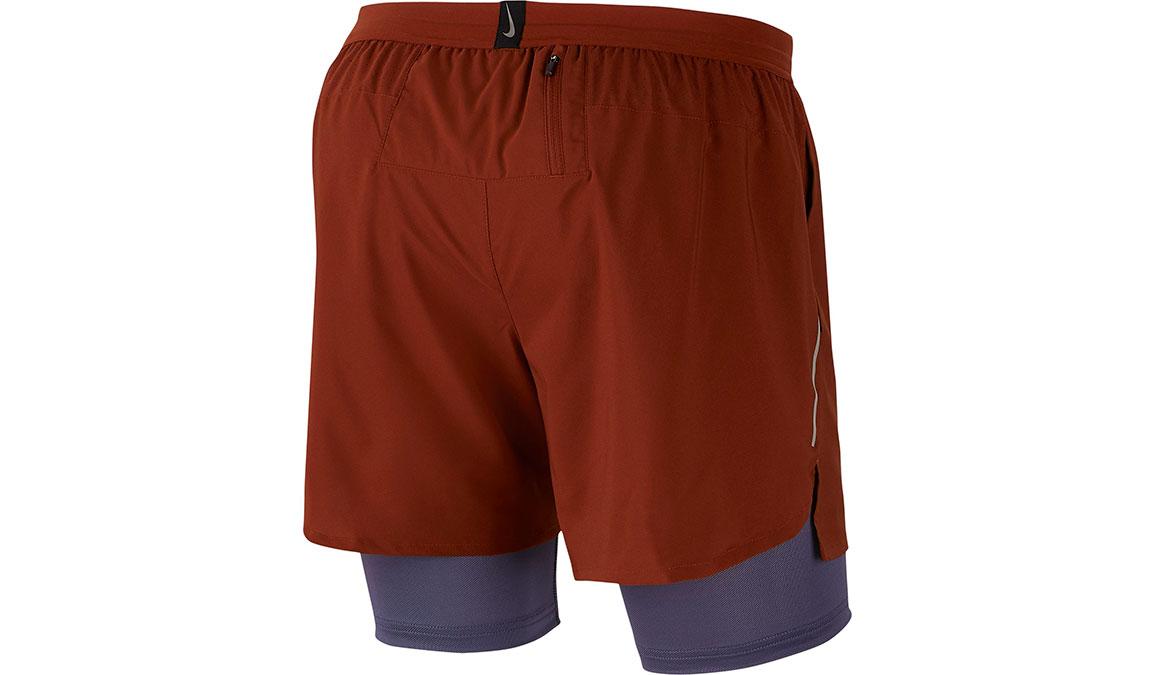 "Men's Nike Dri-FIT Flex Stride 7"" 2-in-1 Shorts - Color: Cinnamon/Sanded Purple Size: S, Cinnamon/Sanded Purple, large, image 3"