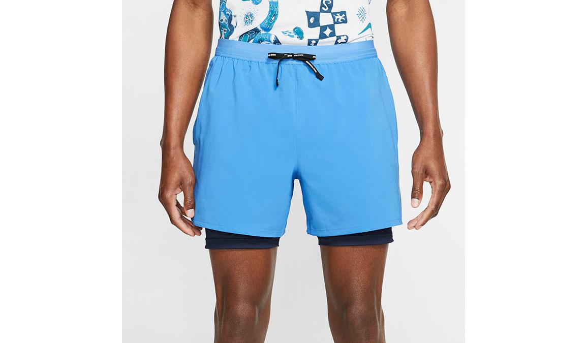 """Men's Nike Dri-FIT Flex Stride 7"""" 2-in-1 Shorts - Color: Pacific Blue Size: L, Pacific Blue, large, image 2"""