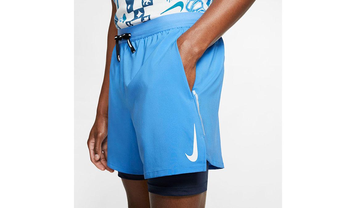 """Men's Nike Dri-FIT Flex Stride 7"""" 2-in-1 Shorts - Color: Pacific Blue Size: L, Pacific Blue, large, image 4"""