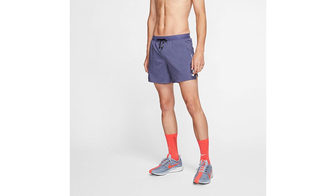 "Men's Nike Dri-FIT Flex Stride 5"" Shorts - Color: Sanded Purple/Reflective Silver Size: S, Sanded Purple/Reflective Silver, large, image 1"
