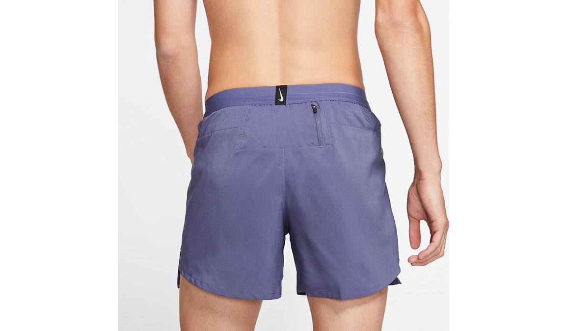"Men's Nike Dri-FIT Flex Stride 5"" Shorts - Color: Sanded Purple/Reflective Silver Size: S, Sanded Purple/Reflective Silver, large, image 4"