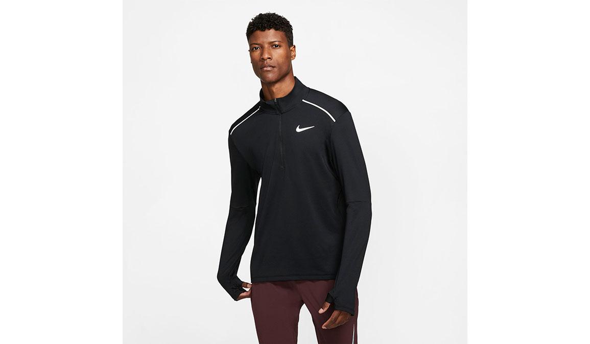 Men's Nike Element 3.0 Crew - Color: Black/Reflective Silver Size: S, Black/Reflective Silver, large, image 1