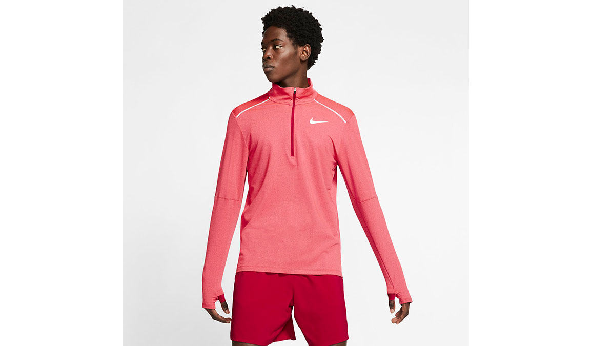 Men's Nike Element 3.0 Crew - Color: Noble Red/Reflective Silver Size: S, Noble Red/Reflective Silver, large, image 1