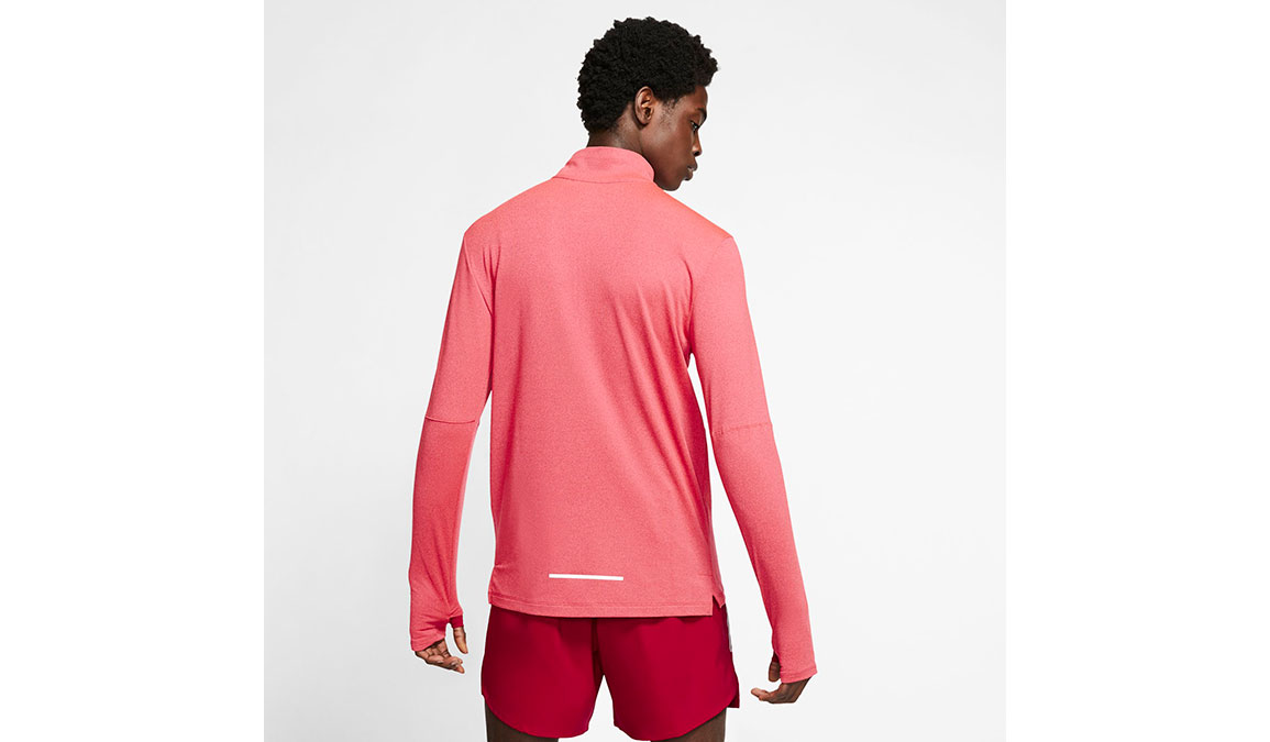 Men's Nike Element 3.0 Crew - Color: Noble Red/Reflective Silver Size: S, Noble Red/Reflective Silver, large, image 2