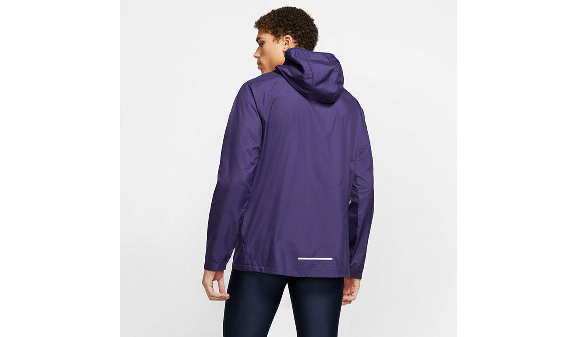 Men's Nike Essential Jacket - Color: Purple/Reflective Silver Size: S, Purple/Reflective Silver, large, image 2