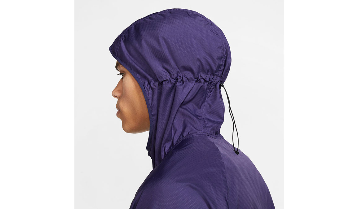 Men's Nike Essential Jacket - Color: Purple/Reflective Silver Size: S, Purple/Reflective Silver, large, image 3