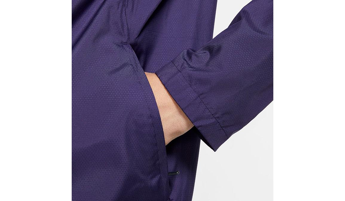 Men's Nike Essential Jacket - Color: Purple/Reflective Silver Size: S, Purple/Reflective Silver, large, image 4