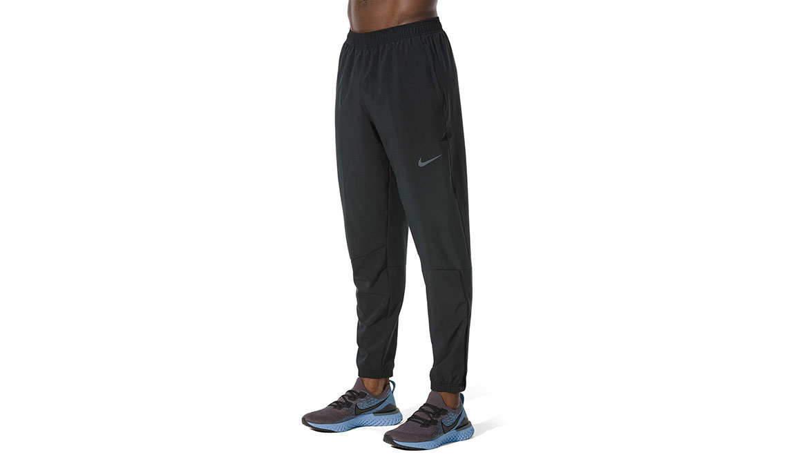 Men's Nike Essential Pants - Color: Black/Reflective Silver Size: S, Black/Reflective Silver, large, image 1