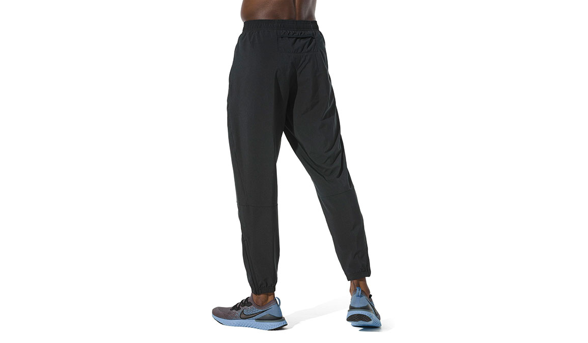 Men's Nike Essential Pants - Color: Black/Reflective Silver Size: S, Black/Reflective Silver, large, image 2