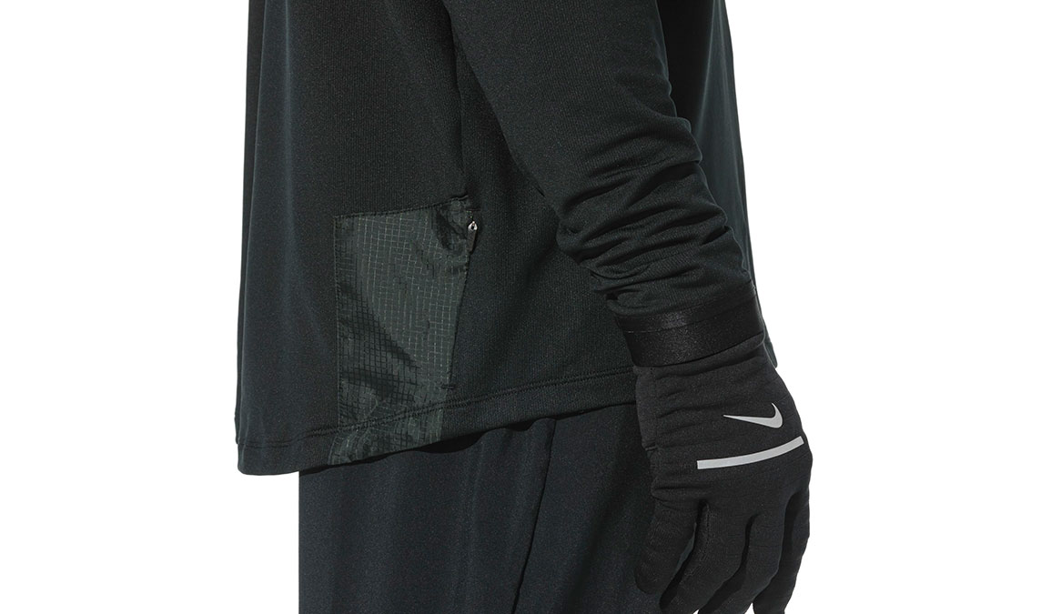 Men's Nike Essential Pants - Color: Black/Reflective Silver Size: S, Black/Reflective Silver, large, image 4