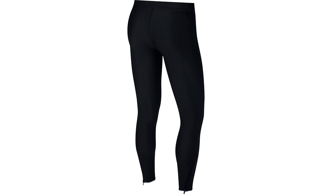 Men's Nike Mobility Running Tights - Color: Black/Reflective Silver Size: S, Black/Reflective Silver, large, image 2