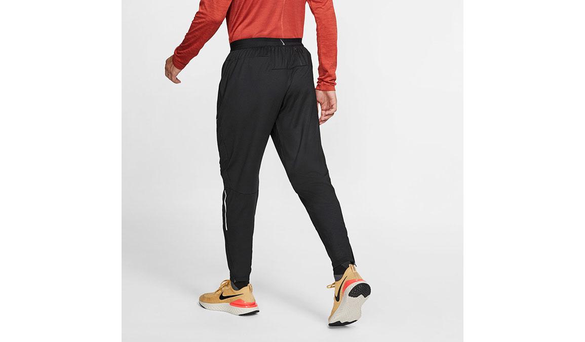Men's Nike Phenom Knit Pants - Color: Black/Reflective Silver Size: M, Black/Reflective Silver, large, image 2