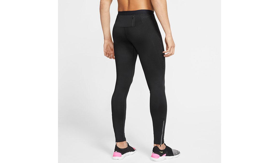 Men's Nike Power Tech Tights - Color: Black Size: S, Black, large, image 2