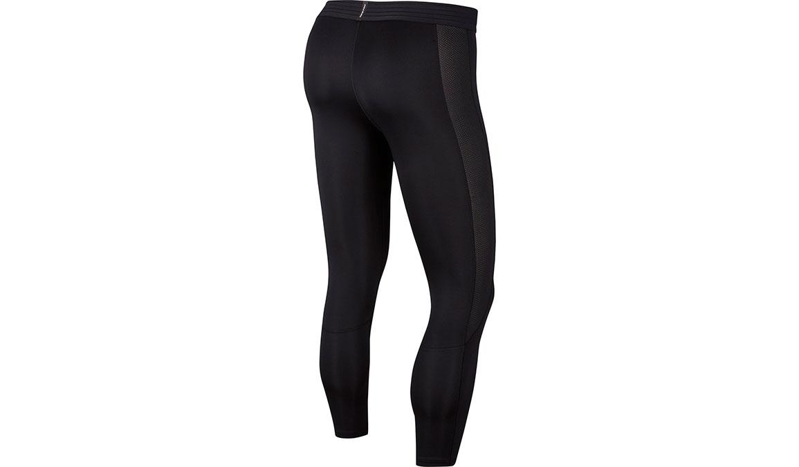 Men's Nike Pro 3/4 Tights - Color: Black/White Size: L, Black/White, large, image 7