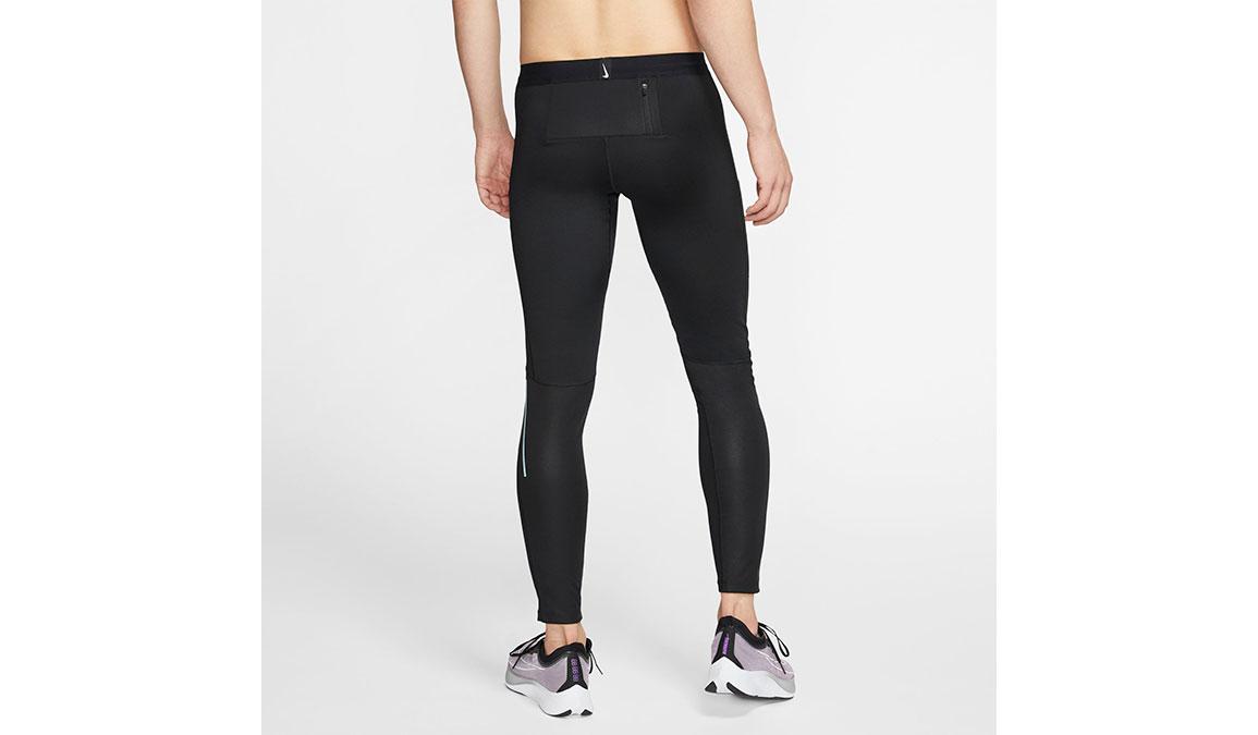 Men's Nike Shield Tights - Color: Black/Reflective Silver Size: S, Black/Reflective Silver, large, image 2