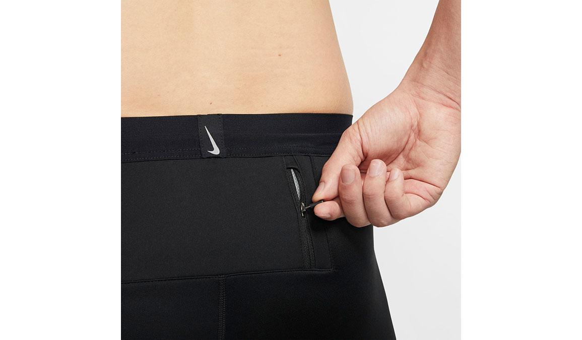 Men's Nike Shield Tights - Color: Black/Reflective Silver Size: S, Black/Reflective Silver, large, image 3