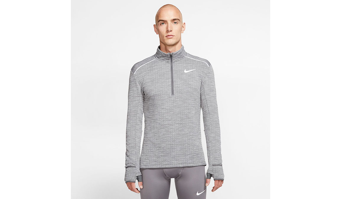Men's Nike Sphere Element 3.0 Half Zip - Color: Iron Grey/Reflective Silver Size: S, Iron Grey/Reflective Silver, large, image 1