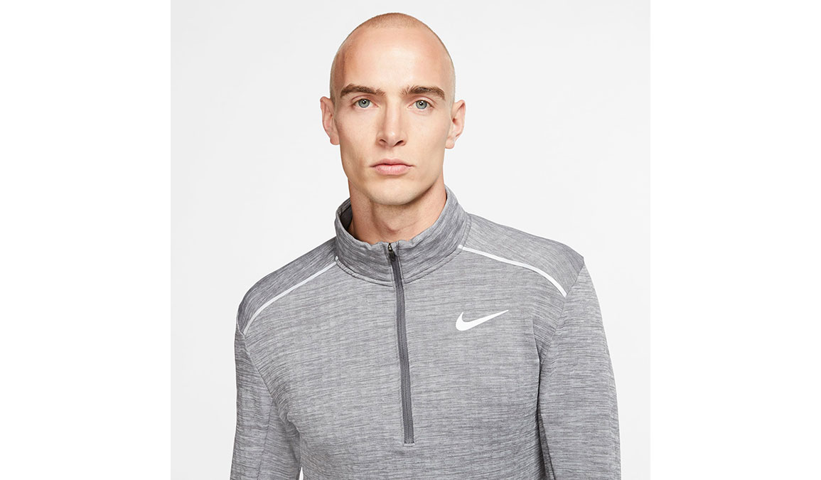 Men's Nike Sphere Element 3.0 Half Zip - Color: Iron Grey/Reflective Silver Size: S, Iron Grey/Reflective Silver, large, image 2