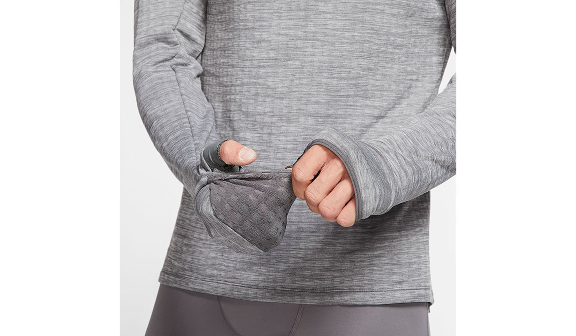 Men's Nike Sphere Element 3.0 Half Zip - Color: Iron Grey/Reflective Silver Size: S, Iron Grey/Reflective Silver, large, image 4