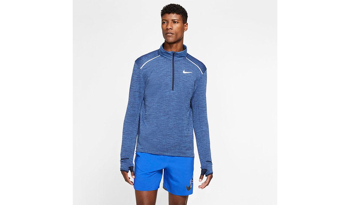 Men's Nike Sphere Element 3.0 Half Zip - Color: Obsidian/Heather Size: S, Obsidian/Heather, large, image 1