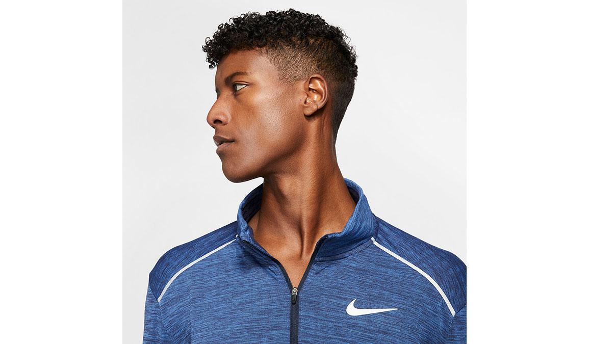 Men's Nike Sphere Element 3.0 Half Zip - Color: Obsidian/Heather Size: S, Obsidian/Heather, large, image 3
