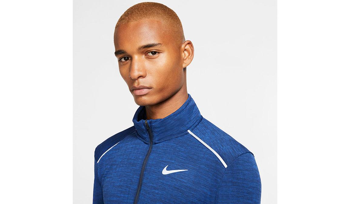 Men's Nike Sphere Element 3.0 Half Zip - Color: Obsidian/Reflective Silver Size: S, Obsidian/Reflective Silver, large, image 2