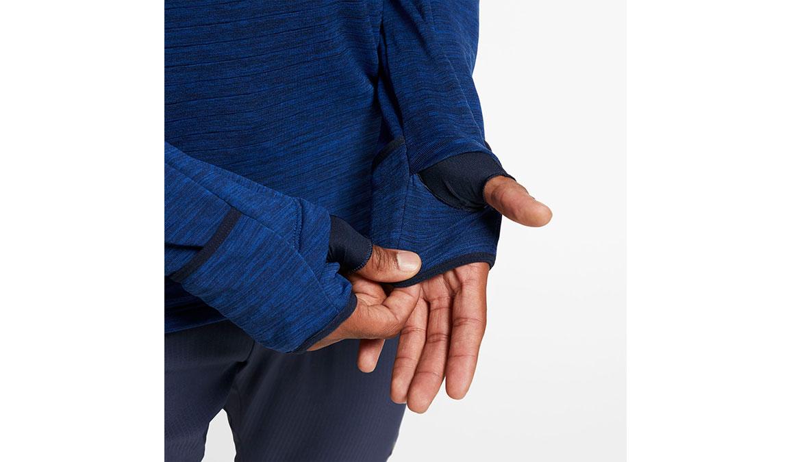 Men's Nike Sphere Element 3.0 Half Zip - Color: Obsidian/Reflective Silver Size: S, Obsidian/Reflective Silver, large, image 3