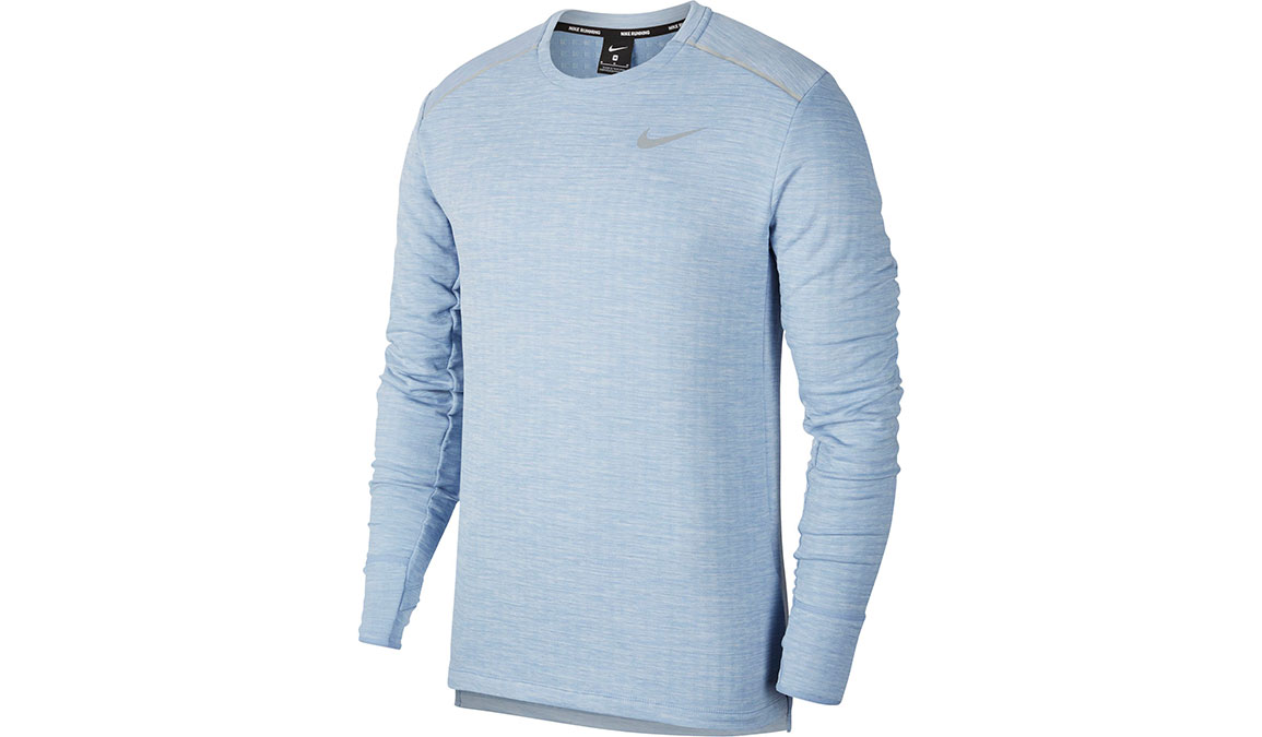 Men's Nike Sphere Element 3.0 Top - Color: Indigo Fog/Reflective Silver Size: S, Indigo Fog/Reflective Silver, large, image 1