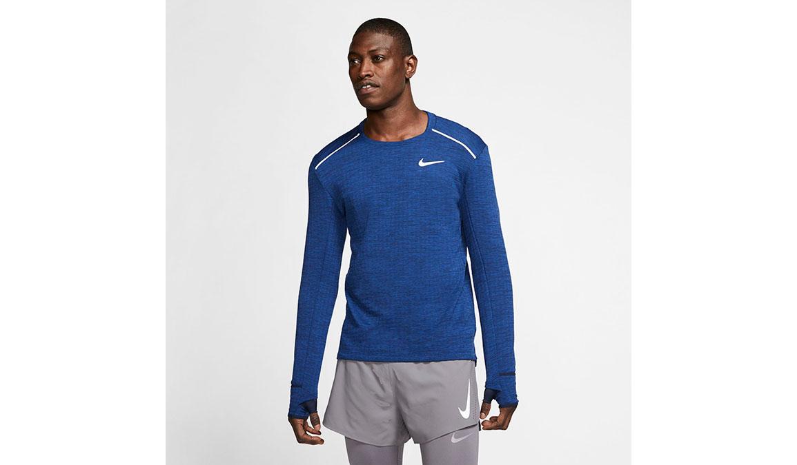 Men's Nike Sphere Element 3.0 Top - Color: Obsidian/Heather Size: S, Obsidian/Heather, large, image 1