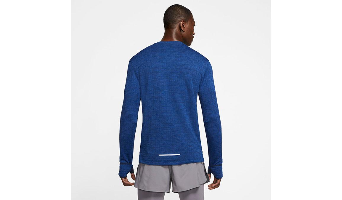 Men's Nike Sphere Element 3.0 Top - Color: Obsidian/Heather Size: S, Obsidian/Heather, large, image 2