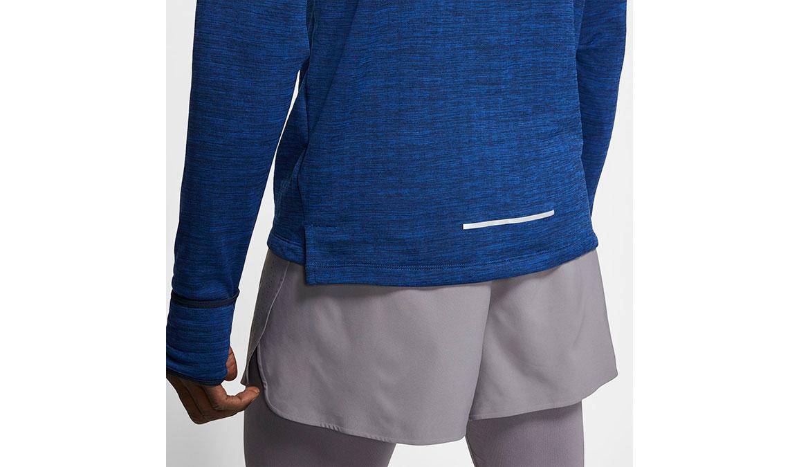Men's Nike Sphere Element 3.0 Top - Color: Obsidian/Heather Size: S, Obsidian/Heather, large, image 3